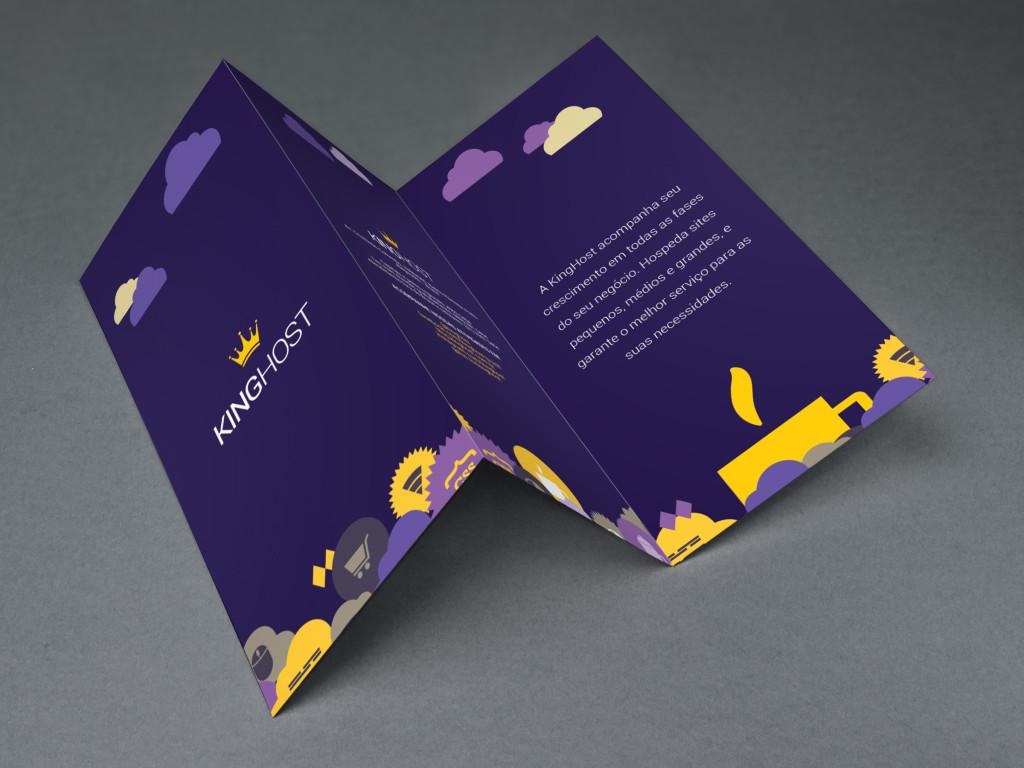 Tri Fold Brochure MockUp king