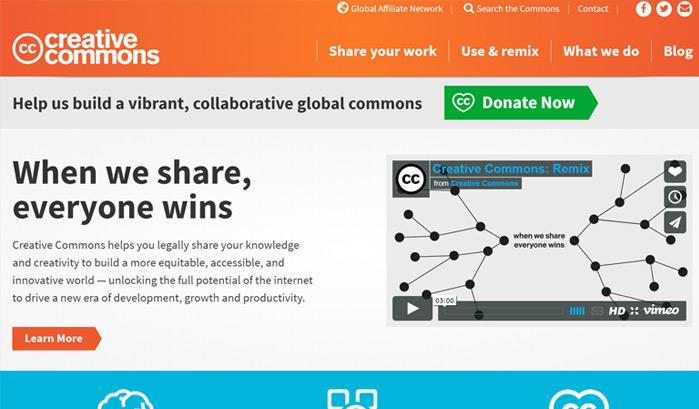creative-commons-wordpress-sites