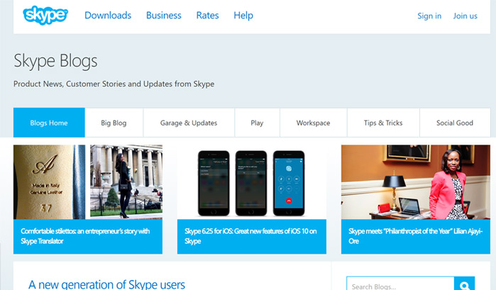 skype-blog-wordpress-sites