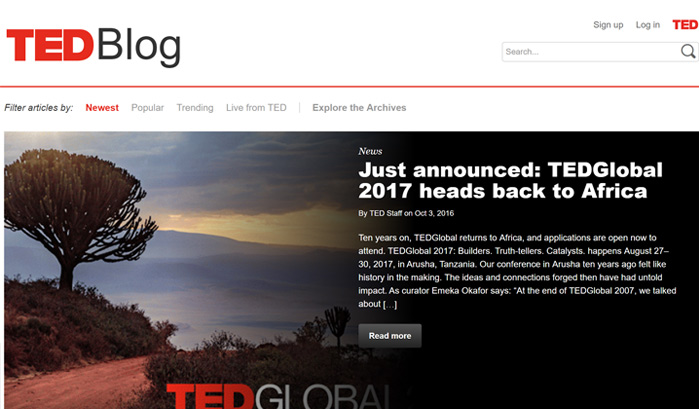 ted-blog-wordpress-sites