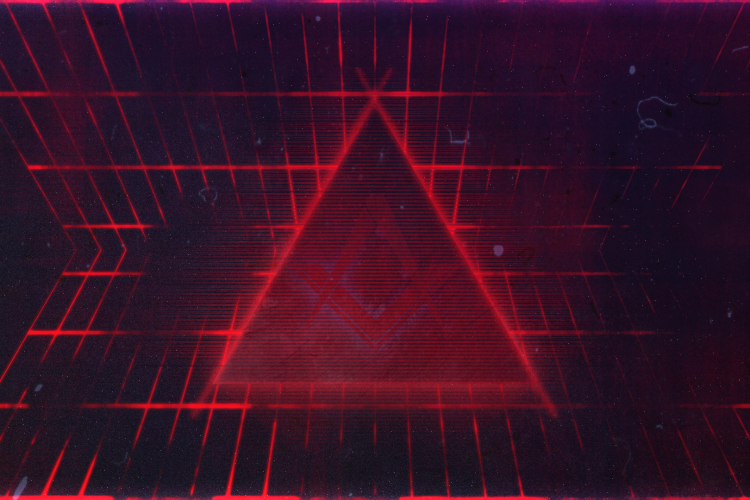 abstract-triangles-Synthwave-Darksynth-80s-neo-80s-cyberpunk-750x500