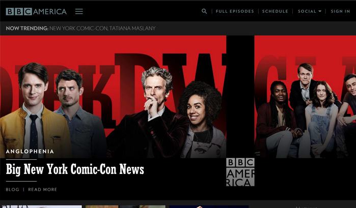 bbc-america-wordpress-sites