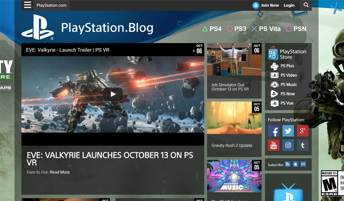 playstation-blog-wordpress-sites